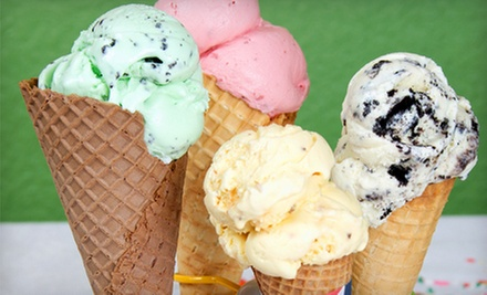 $10 for $20 Ice Cream Punch Card at Ashby's Sterling Ice Cream Parlor