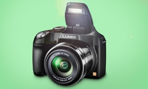 Panasonic Lumix 16.1mp Digital Camera With 60x Zoom (dmc-fz70k). Free Returns.