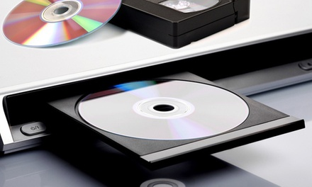 2, 4, or 10 Video-to-DVD Conversions at Grizzly Ranch Productions (Up to 54% Off)
