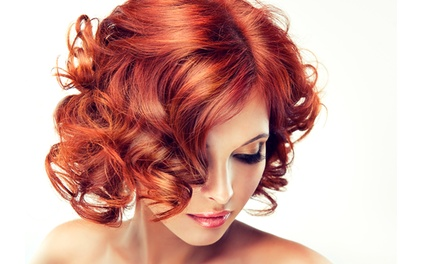 Full Color, Partial Highlights, or Full Highlights at Teddie Kossof Salon & Spa (Up to 53% Off)