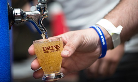 Session One or Two Ticket to Hampton Roads Beer Fest by Drink the District (42% Off)