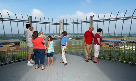 Admission for 2, 4, or 12 at Lewis & Clark Confluence Tower (Up to 54% Off)
