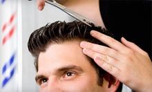 $30 for Three Men's Haircuts with Head Massages and Facial Groomings from Kiesha Gardner at Salon Capelli ($75 Value)
