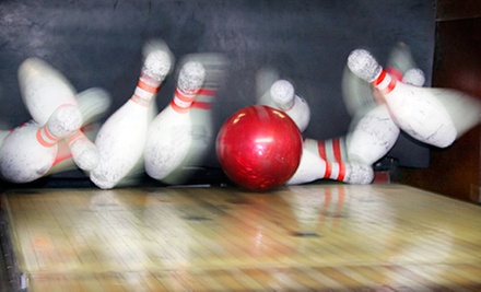 $19 for 2 Hours of Bowling with Shoe Rental for Four at The Alley (Up to $52 Value)