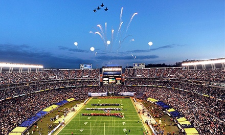 $30 to See the San Diego County Credit Union Poinsettia Bowl at Qualcomm Stadium on December 23 ($69.20 Value)