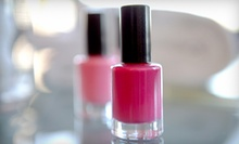 $35 for a Spa Mani-Pedi at Scissors Village Salon Spa & Boutique ($70 Value)