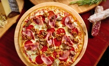 Pizzeria Meal for Two or Four at Russo's New York Brick Oven Pizza (Up to 59% Off)