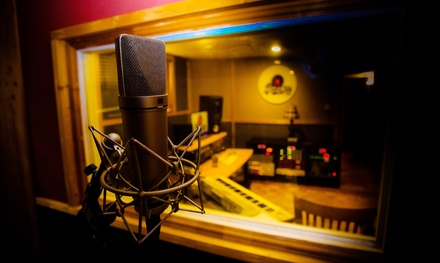 Two, Four, or Eight Hours of Studio Recording Time with a Producer and Engineer at The Record Shop (Up to 71% Off)
