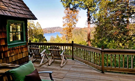 groupon daily deal - 2- or 3-Night Stay for Up to 8–10 at Arrowhead Retreats in Lake Arrowhead, CA