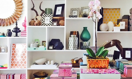 Eclectic and Vintage Home Accessories at Kulture Bomb (50% Off). Two Options Available.