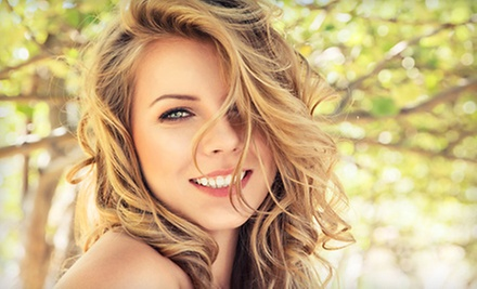 Aveda Concept Salon Haircut Package with Options for Full Color or Highlights, Or Conditioning Treatment (Up to 55% Off)