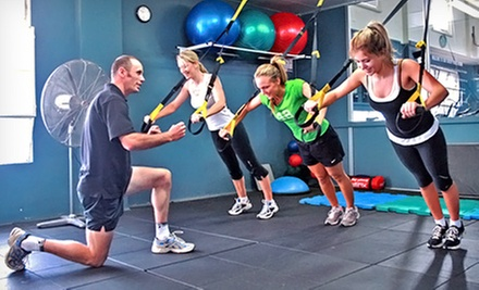 5 or 10 Indoor Boot-Camp Classes at Studio Fitness (Up to 62% Off)