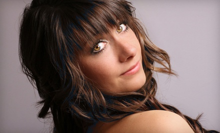 Cut with a Conditioning Treatment, Toner, and Partial Highlights, or a Keratin Treatment at Vergo Salon Spa (Half Off)