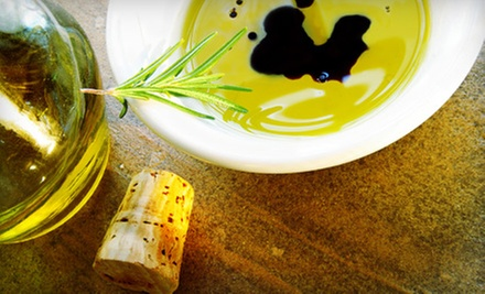 Bottles of Olive Oil and Vinegar and Tasting for Two or Four at Paradiso Olive Oils & Vinegars (51% Off)