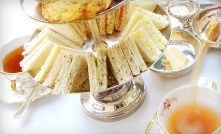 Afternoon Tea with Sandwiches, Scones, and Champagne for Two, Four, or Eight at The Villa DiMaio (Up to 57% Off)