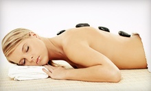 55- or 80-Minute Hot-Stone Massage at Nail and Skin Day Spa (Up to 63% Off)