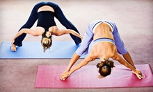 Five Hot Yoga Classes or Month of Unlimited Hot Yoga Classes at Yoga Harmony (Up to 67% Off)