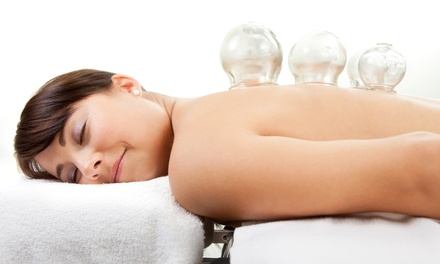 60-Minute Cupping or Massage Session at Tranquil Moments Massage (Up to 55% Off)