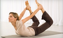 10 or 20 Heated Yoga Classes for One or Two at hOMe Yoga Experience (Up to 80% Off). Three Options Available.