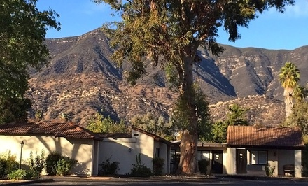 Groupon Deal: 1-Night Stay for Two with $15 Dining Credit at Hummingbird Inn in Ojai, CA. Combine Up to 2 Nights.