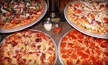 $15 for $30 Worth of Pizzeria Food or Pizza Meal for Four with Salad, Breadsticks &amp; Drinks at Cool River Pizza Roseville