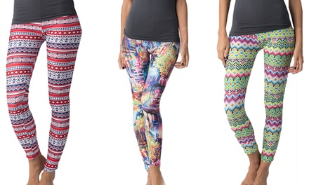 Women's Patterned Leggings