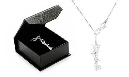 Um ou dois colares Infinity com nome desde 16,99€