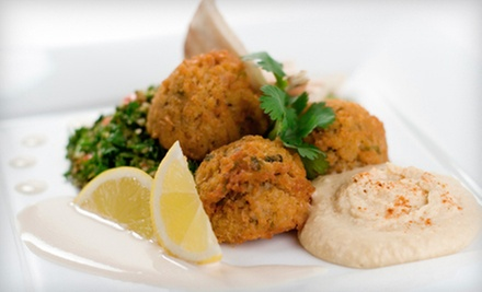 Mediterranean Food on Monday–Thursday or Friday–Sunday at Cafe Mediterranean (Up to 55% Off)