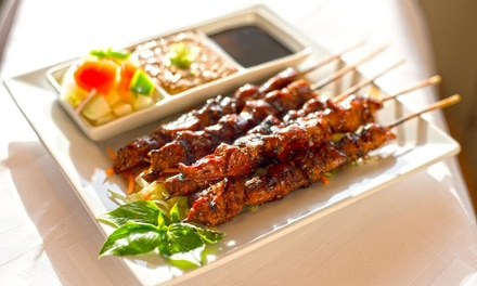 Indonesian Cuisine for Lunch or Dinner at Indo (Up to 45% Off).