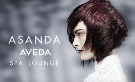 Aveda Haircare Package at Asanda Aveda Spa Lounge (Up to 62% Off). Three Options Available.
