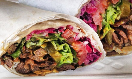 $15 for Three Groupons, Each Good for $10 Worth of Kosher Food at The Holy Grill ($30 Total Value)