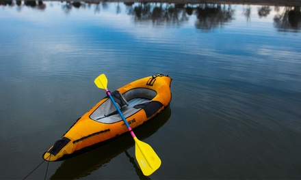 All-Day Inflatable Kayak or Standup-Paddleboard Rental at Just Roughin' It Adventure Company (Up to 44% Off)