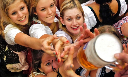 The Bavarian, Der Kommissar, or The Chancellor Ticket Package at Sam Adams Octoberfest, Sept. 19-20 (Up to 52% Off)