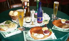 German Cuisine and Drinks at Dreamland Palace German Restaurant (57% Off). Two Options Available.