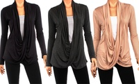 GROUPON: 3-Pack Criss Cross Cardigan 3-Pack Criss Cross Cardigan
