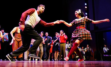 $130 for Four-Day Beginner's Swing Dancing Event from Camp Jitterbug and The Jump Session Show ($274 Value)