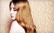Haircut and Keratin Conditioning Treatment with Optional Color or Highlights at Domaniti's Hair Studio (Up to 55% Off)