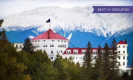 Stay at Omni Mount Washington Hotel in Bretton Woods, NH. Dates into July.