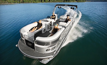 Two- or Four-Hour Luxury Pontoon Boat Rental for Up to Ten People from WaterSports Miami (Up to 67% Off)
