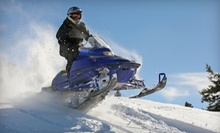 $69 for a 90-Minute Snowmobile-Excursion Tour for One Rider from Jay Snowmobile Adventures ($139 Value)