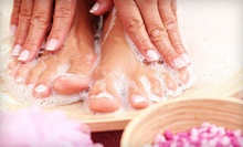 One or Three Mani-Pedis at Temple of Beauty Salon & Spa (Up to 57% Off)