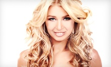 Haircut, Color, and Waxing Packages at Pure Perfection Salon & Spa (Up to 54% Off). Four Options Available.