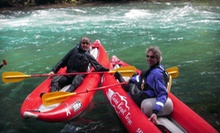 3-Mile Kayaking Trip for Four with Lunch, or 12-Mile Rafting Trip for Two with Lunch from All-Star Outfitters (Half Off)