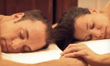 60-Minute Couples Massage with Optional Facials at Infinity Day Spa (Up to 59% Off)