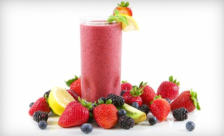 C$15 for Three C$10 Vouchers at Get Juiced