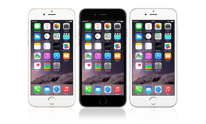 Today's Groupon offers Apple iPhone 6 16GB in space grey, silver or ...