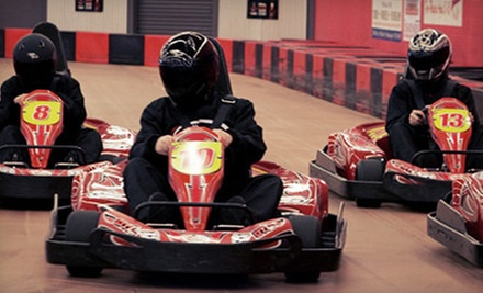 Two or Four Go-Kart Races for Kids or Adults at Driven Raceway (Up to Half Off)
