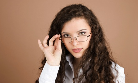 $19 for $129 Toward the Purchase of a Complete Pair of Prescription Eyewear at Vision Clinic