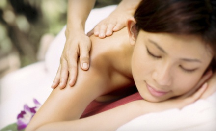One or Three 60-Minute Signature Massages at Grateful Zen (Up to 54% Off)