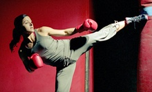 6 Boot-Camp Classes or 10 BlackHawk Defense or Fit Box Classes at Smash Hit Kickboxing (70% Off)